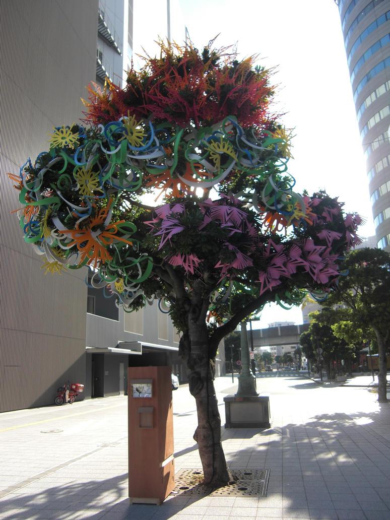 Halloween tree by Gekiganfan