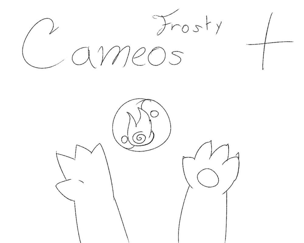 Frosty festivities cameos! by CharmanDrigo