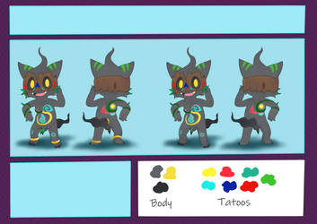 tribal Phantump reference (commission) by CharmanDrigo