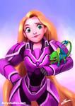 Battle Rapunzel -Battle Princess Collection
