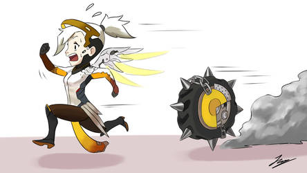 Everytime I play Mercy