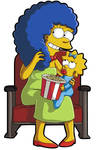 Marge In The Theatre