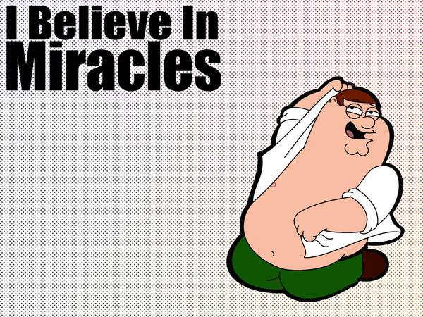Peter Believes In Miracles by LeeRoberts