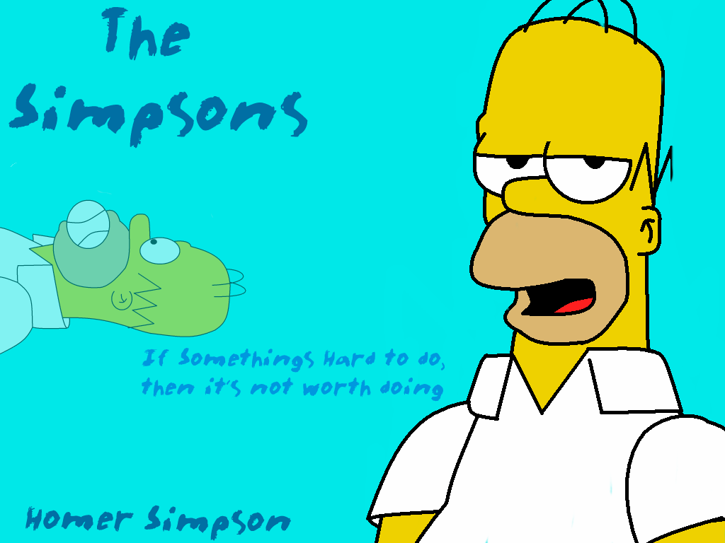 Perfect Homer Simpson Wallpaper By LeeRoberts ...