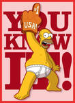 Homer: USA Number One