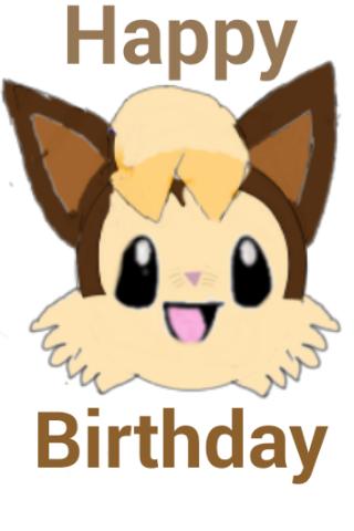 Happy Birthday Vickicutebunny! by TomesAndFables
