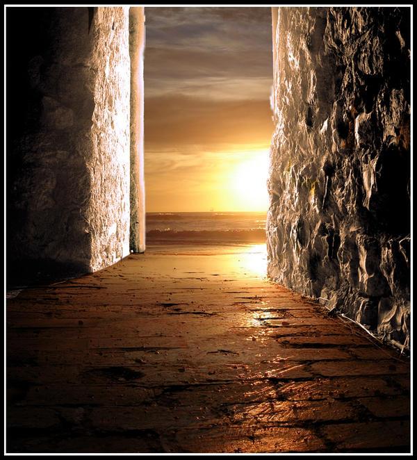 Open door by veryangelic