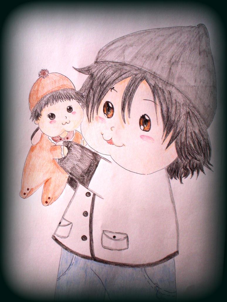 [Imagen: dani_and_baby__d_by_mikiginny-d56gwun.jpg]