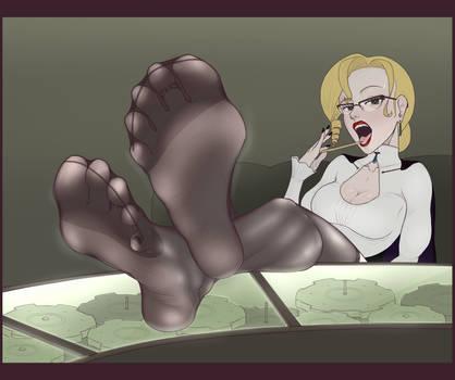 RWBY - Glynda (+ Barefoot Version!)