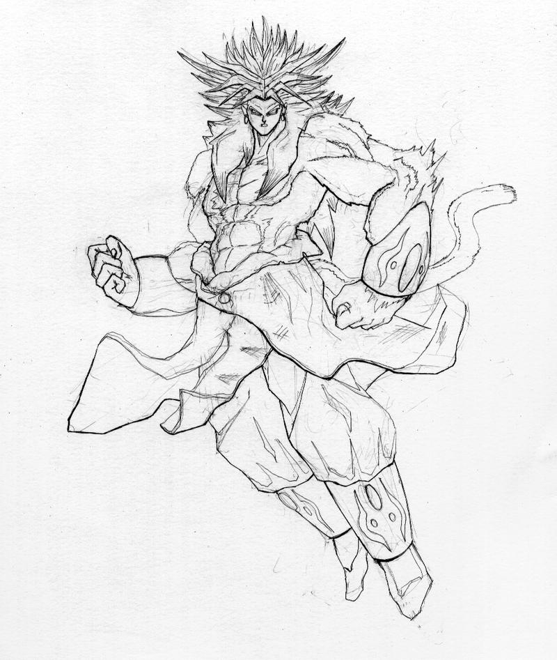 Super Saiyan 4 Broly By TGping