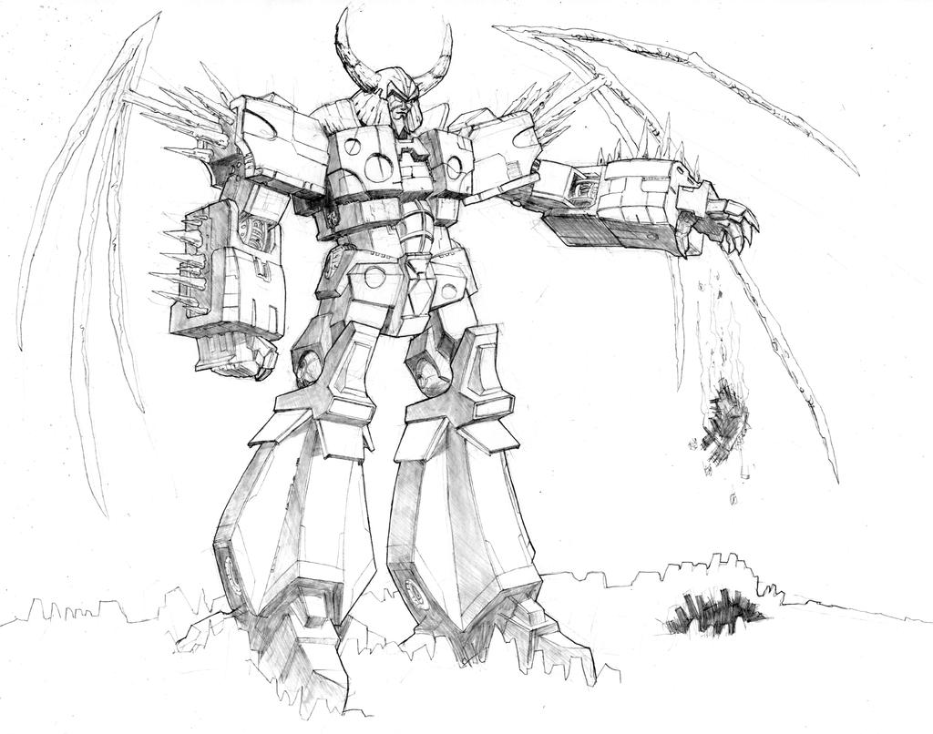 transformers unicron coloring pages