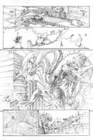 Godzilla VS King Ghidorah pg 1 by TGping