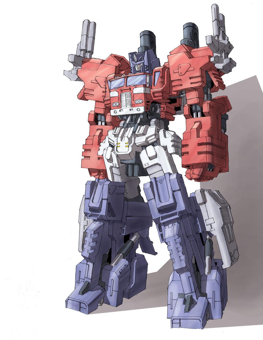 Powermaster Optimus Prime Study by TGping