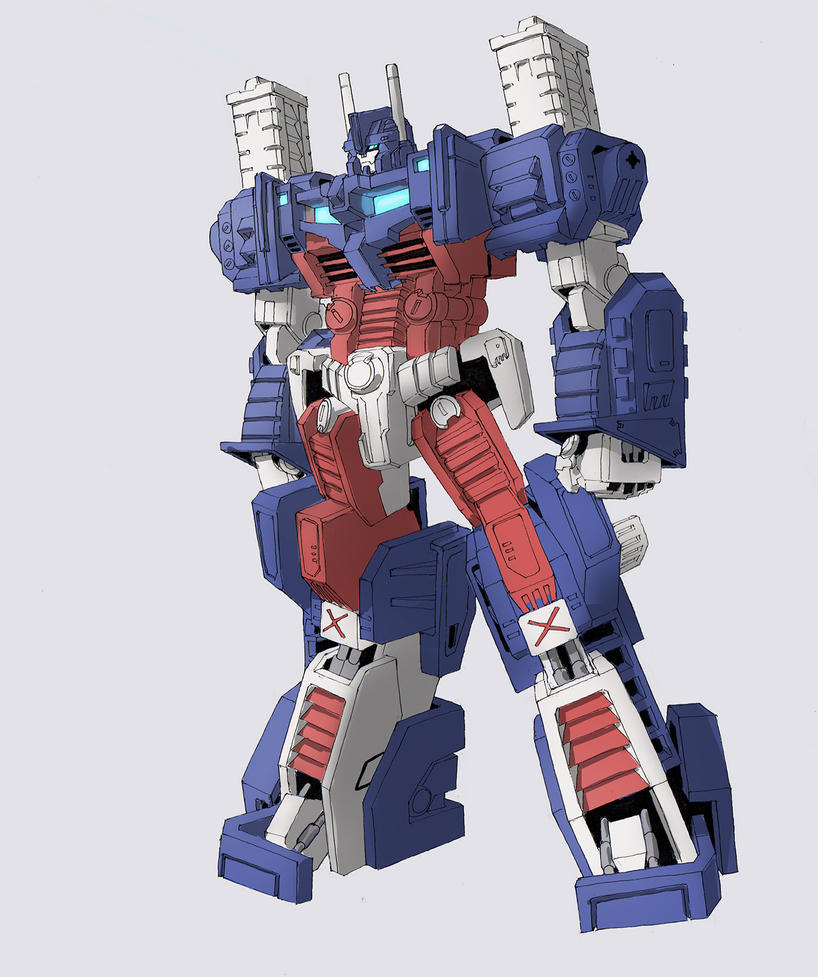 G1 Ultra Magnus Study by TGping