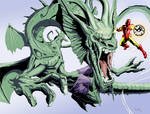 Fin Fang Foom with color
