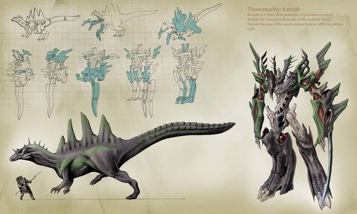 Spinosaurus Toy Concept V2