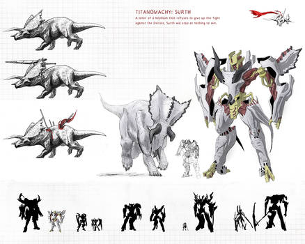 TITANOMACHY: SURTH reference by TGping