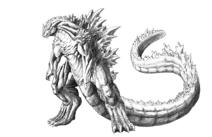 Godzilla Concept by TGping