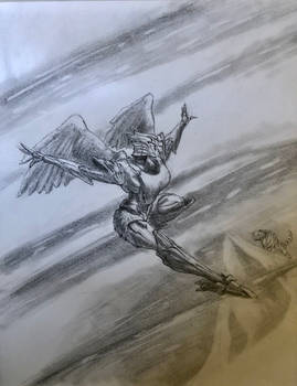 Transformers Beast Wars Airazor sketch