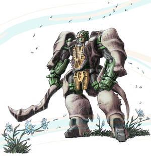 Beast Wars Transformers Rhinox