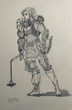 Armored Women of Titanomachy 2 of 31