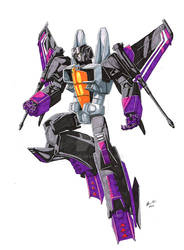 Skywarp Marker Sketch