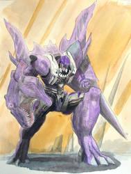 Beast Wars Megatron Painting