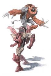 Razorbeast and Armordillo!