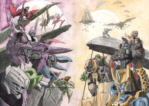 Beast Wars Maximals and Predacons cover