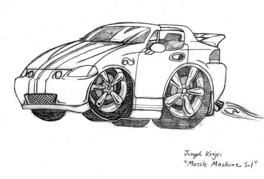 muscle machine del sol honda by joe5art on deviantart