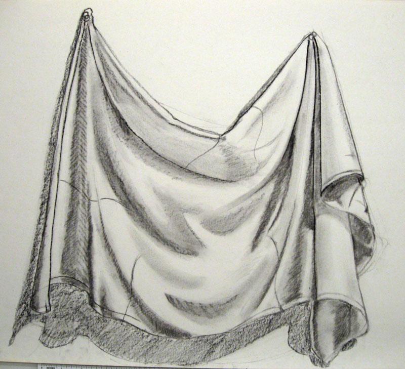 Fabric folds 1