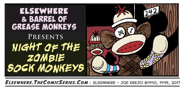 Night of the Zombie Sock Monkeys Teaser by Joe5art
