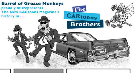 The CARtoons Brothers promo header