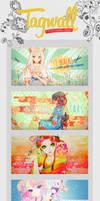 Tagwall 01 by Chibisuke-Chan