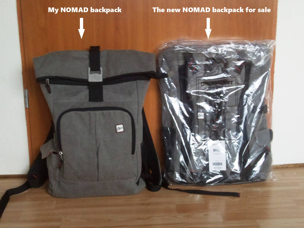 dA PRO Nomad Bag for sale by BanachJowita