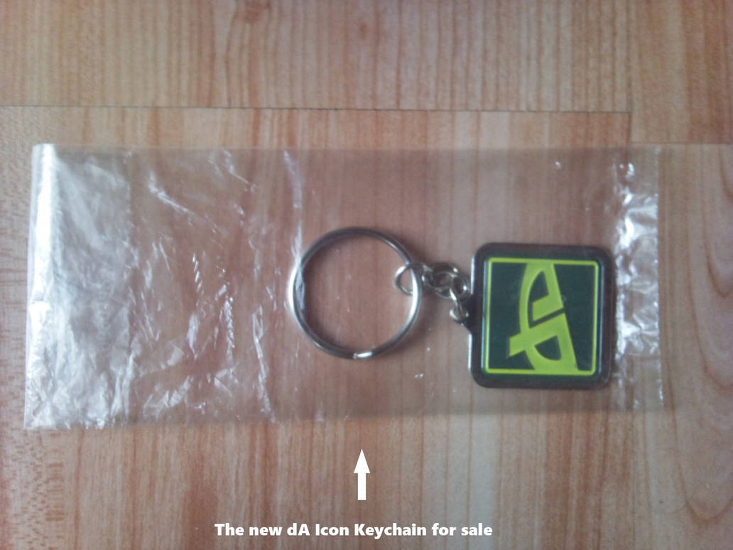 dA Icon Keychain by BanachJowita
