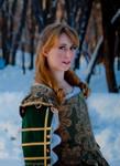 Green Gown Portrait