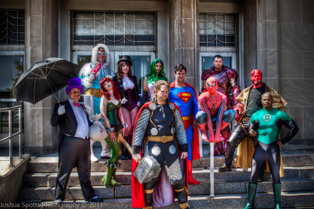 Super Heroes Assembled by esophia
