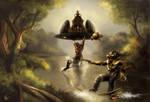 Sci-fi Fairytale by Guardian-of-Light