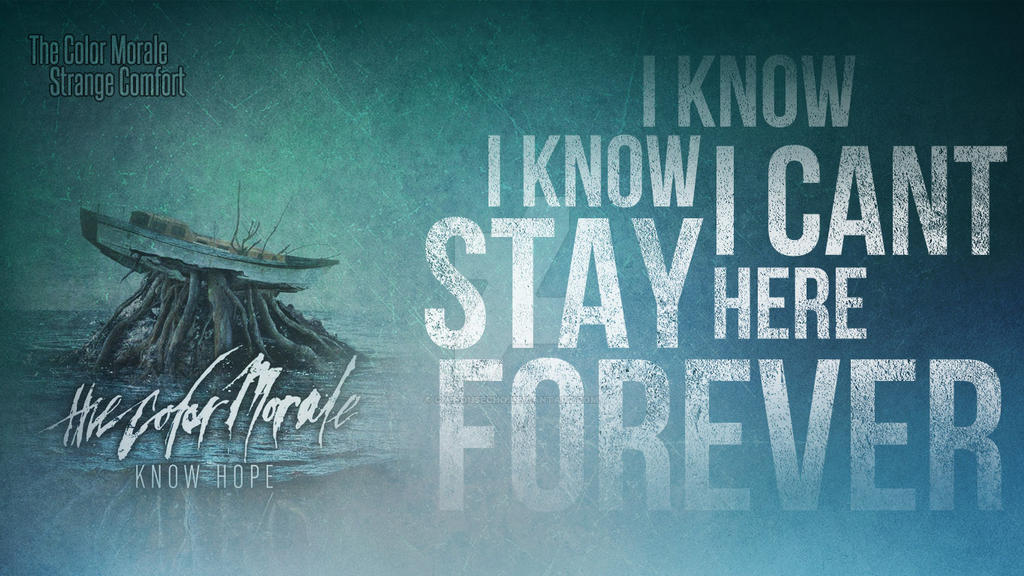 The Color Morale Strange Comfort Wallpaper By Ominousecho On Deviantart