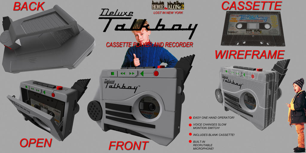 Deluxe talkboy by ke8c9 on deviantart