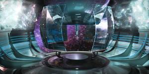 Sci fi Room by ke8c9