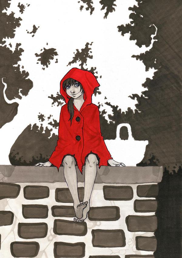 Red-hooder by Sylwoos