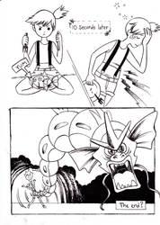 Misty Eats a Magikarp
