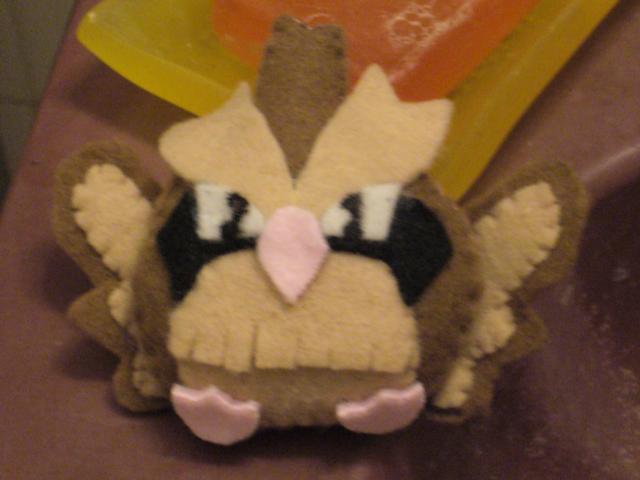 Pidgey Plushie by Sexual-Pancake
