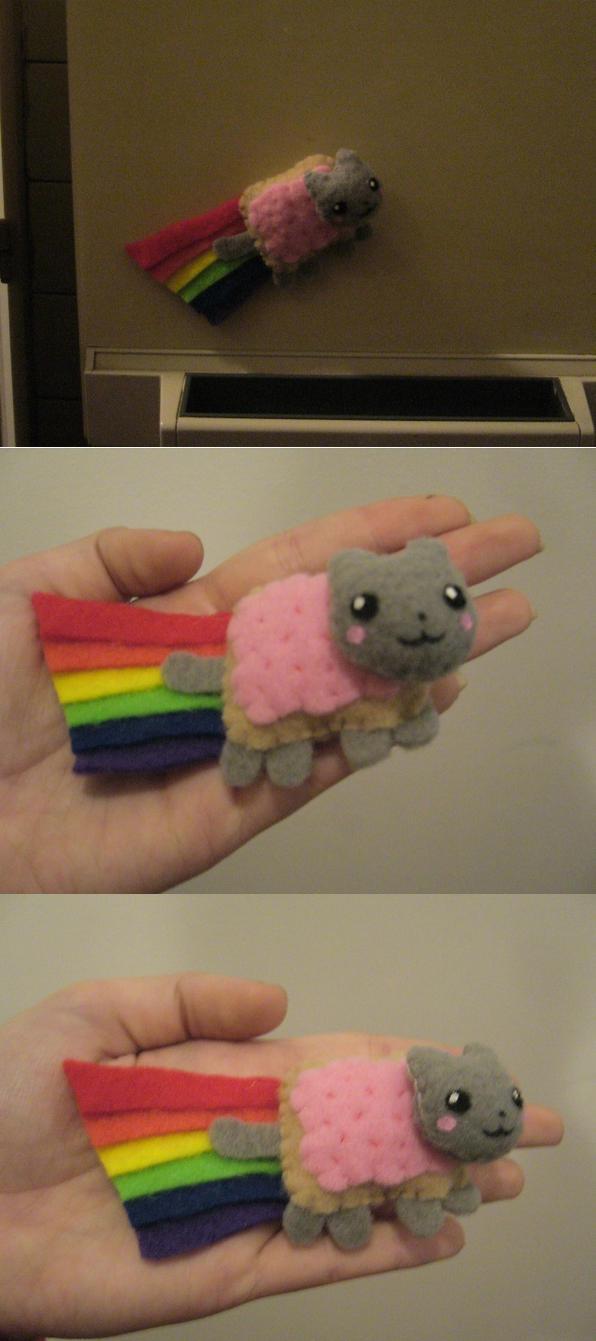 Nyan Poptart Cat Magnet by Sexual-Pancake