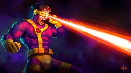 Cyclops Fanart by StephenH-TRIPP
