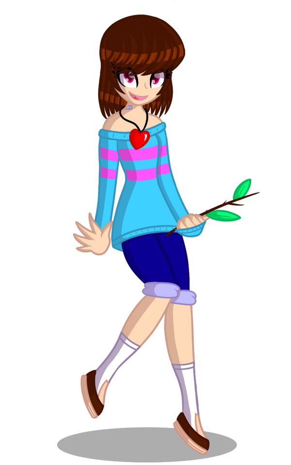 Undertale - Frisk the Mainkid (Redraw) by JulieannaSanX