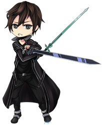 Sword Art Online : Kirito by kukuriXD