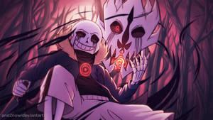 Underverse season 2 wallpaper ( killer sans )